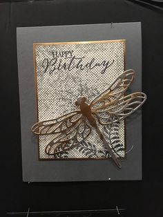 I'm back from the Canadian Business Conference but still haven't managed to unpack all of my business materials! Masculine Birthday Cards, Birthday Cards For Men, Handmade Birthday Cards, Masculine Cards, Greeting Cards Handmade, Bee Cards, Cardmaking And Papercraft, Paper Trail, Beautiful Handmade Cards