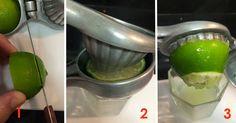 É provável que você tenha um espremedor de limão em casa, pois se trata de um instrumento muito simples e comum.Então, a pergunta-chave é:- você sabe utilizá-lo corretamente?