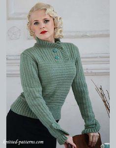 Jumper knitting pattern free
