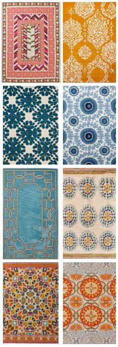 Favorite boho rugs