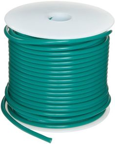 """GPT Automotive Copper Wire, Green, 14 AWG, 0.0641"""" Diameter, 100' Length (Pack of 1) by Small Parts. $33.56. GPT general purpose automotive green color wire temp range -40 to 105 C"""
