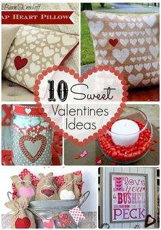 10-Sweet-Valentines-Ideas!  Excited to find these- so cute!