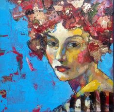 Image result for contemporary oil portrait