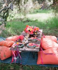 36 Awesome Outdoor Bridal Shower Ideas | HappyWedd.com