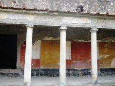 Portico in the Villa of Poppaea.