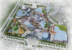 Theme park and attraction industry's most trusted directory for companies providing products & services to museums, theme parks, zoos, aquariums and FECs. Parc Attraction, Hospital Floor Plan, Destin Resorts, Planet Coaster, Mixed Use Development, Entrance Ideas, Parking Design, Beijing China, Concept Architecture