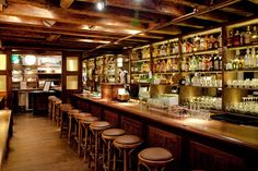 The 13 Most Influential Craft Cocktail Bars in the USA: Have you tried them all? Better get drinking at Milk & Honey, The Dead Rabbit, Pegu Club and more...
