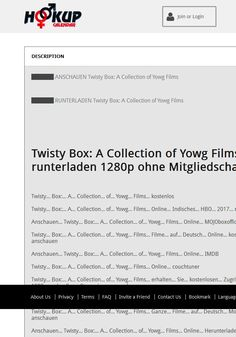 Twisty Box: A Collection of Yowg Films
