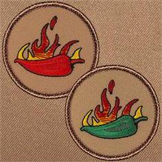 Flaming Jalapeño Patrol Patch (#348,348A)