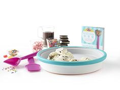 Amazon.com: Chef'n Sweet Spot Instant Ice Cream Maker, Lagoon Color: Kitchen & Dining