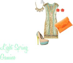"""Light Spring Gamine"" by keylarion on Polyvore"
