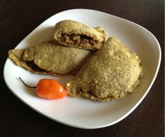 This Jamiacan beef patty is made with a paleo plantain crust. It is like an empenada from latin countries with the exception that ours is baked not fried.