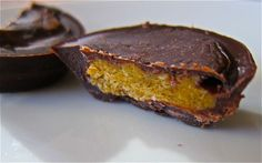 homemade peanut butter cups! use ice cube tray.