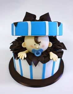 Baby shower cake - how cute