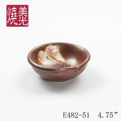 Japanese soy saucer bowl&ceramic dish E482-51  Size: diameter 4.75 inch