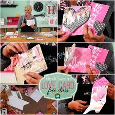 My Craft Channel: Mar. 19th: Cute Clipboards Craft Tip, Heidi Swapp's Free Love Card Class, 18 Re-usable Chalkboard Art Sheets + Bonus