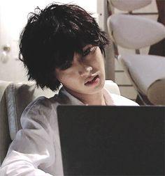 L Lawliet ♥ Kento Yamazaki Death Note Live Action, L Death Note, Kento Yamazaki Death Note, L Lawliet, Japanese Boy, Kubota, Dear Lord, Asian Boys, Aesthetic Anime