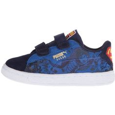 40875783 Puma Kids Suede Superman 2 V (Toddler/Little Kid/Big Kid) featuring polyvore