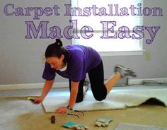 A Simple Guide To DIY Carpet Installation