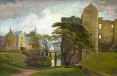 Rothesay Castle, 1889.