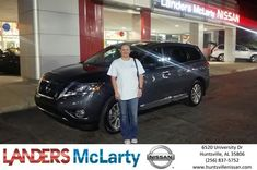 Congratulations Kippi on your #Nissan #Pathfinder from Joe Johnson at Landers McLarty Nissan !  https://deliverymaxx.com/DealerReviews.aspx?DealerCode=RKUY  #LandersMcLartyNissan