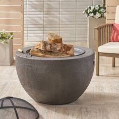 Sunjoy Steel Outdoor Fireplace & Reviews | Wayfair