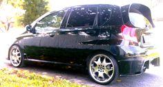 "2005/2006 Chevy Aveo  17"" rims, 45/205 tyres, custom body kit"
