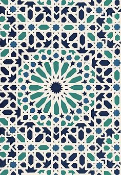 schumacher. They have a new line of moroccan patterns. Kind of late but you can also stencil the designs for so much less: Royal Design stencils has all the patterns you would ever want