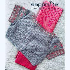 Saree Jacket Designs, Half Saree Designs, Saree Jackets, Wedding Silk Saree, Work Blouse, Blouse Styles, Silk Sarees, Instagram, Models