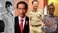 Netizen ini bandingkan foto Soekarno, Jokowi, Ahok dan Anies Baswedan saat naik kereta api