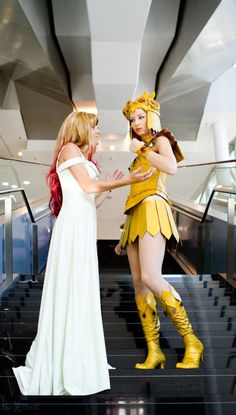 Galaxia cosplays from Sailor Stars.