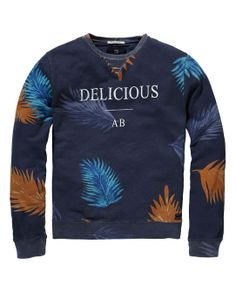 All-over printed sweater - Scotch & Soda