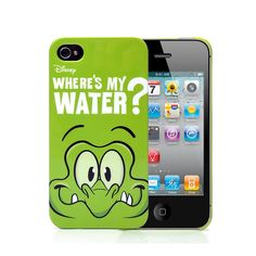 Where's My Water Protective Plastic Case for iPhone 4/4S (Green) ,Best personalized gifts for him or her on Yoyoon.com