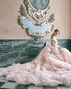 """@cfda on Instagram: """"""""With color, you can really differentiate yourself and your style. After many years, brides are so ready for color,"""" said @MoniqueLhuillier…"""" Top Wedding Dresses, Wedding Dress Trends, Colored Wedding Dresses, Designer Wedding Dresses, Bridal Dresses, Wedding Ideas, Wedding Inspiration, Wedding Goals, Bridal Collection"""