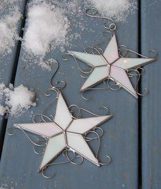 Lot de 2 vitraux Wish Upon A Star Stars par theglassmenagerie