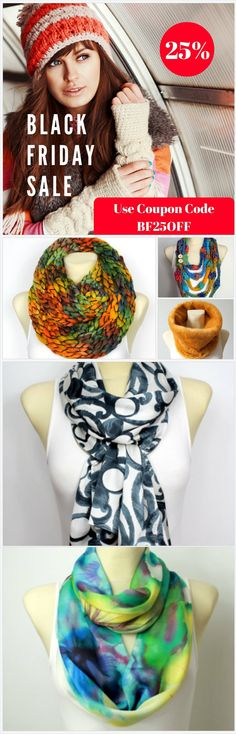 Black Friday Sale 25%OFF use coupon code BF25OFF. Unique super chunky knit handmade scarves available in over 150 trendy fashion designs. Take advantage of Black Friday Deals which end on Cyber Monday at midnight! Chose unique Christmas gift idea for a women. Give your mom, wife, girlfriend or simply a friend beautiful present made with love in Brighton,UK. Fashion Accessories are trendy this year, get your Christmas shopping done early! https://www.etsy.com/uk/shop/LocoTrends