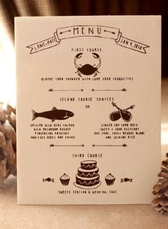 stationery, menu, rustic, food, goods, paper, wedding, Beaver Creek , Colorada