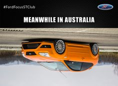 #Meanwhile in #Australia - #Ford #Focus #ST And where are you from? Have a nice #sunday! #FordFocusSTClub