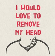 Sometimes it pounds so hard you just want to cut it off! #IVMT #IVnutritionaltherapy #migraine