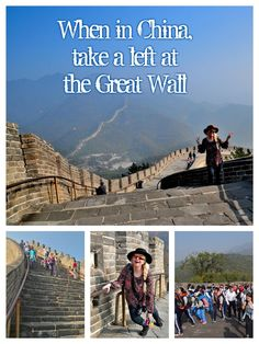 Is the Great Wall on your bucket list? Is it hard to hike? Can you really see if from space? How long is it? How old is it? When is the best, least crowded time to go? These and other questions answered in this story! http://luggageandlipstick.com/great-wall-china/