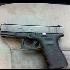 glock 23. Yeah buddy!!! Naomi is beautiful!!!
