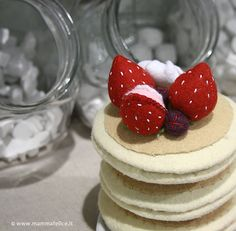 Felt food: i dolcetti di pannolenci