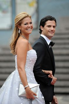 Princess Madeleine with her brother, Prince Carl Philip of Sweden