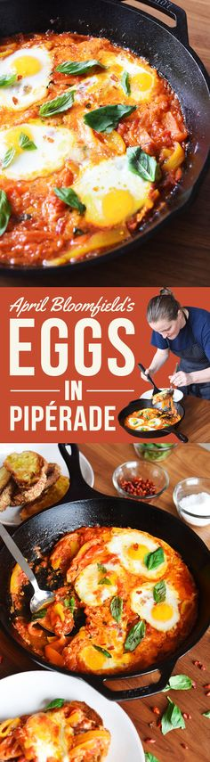 Here's What Happens When You Ask A Chef To Make You Breakfast  If anyone can turn a pile of vegetables into a decadent breakfast skillet, it's April Bloomfield.