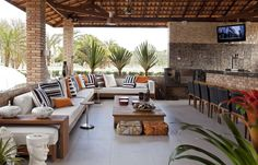 Many homeowners wondering if house remodeling is worth it before they list their homes to sell. Outdoor Living Rooms, Outside Living, Outdoor Spaces, Outdoor Decor, Patio Design, Exterior Design, House Design, Backyard Patio, My Dream Home