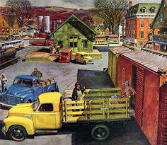 Plan59 :: Classic Truck Art :: 1951 Chevrolet Trucks