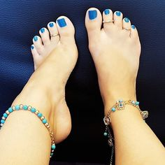 Follow IG @vegan_footqueen Cute Blue Toes Toe Rings Ankle Bracelets !!! Perfect Feet For You • ❤@PerfectFeetForYou ❤️ • • • • • #PerfectFeetForYou #LickFeet #HighHeels #SexyArches #HighArches #PerfectSoles #PerfectToes #PerfectFeet #BareFoot #BareFeet #LoveMyFeet #SoftFeet #FeetFetishNation #ToesAndSoles #PrettyToes #SexySoles #SexyFeet #FootFetishCommunity #FootFetishGroup #FootLove #FootGoddess #FootLover #FootPorn #FootJob #FootFetishNation #FeetLove #FeetUp #FeetPorn #Toes #Feet...