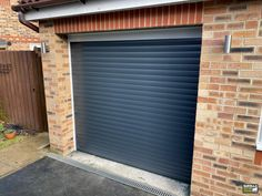 Grey-Blue Garage Doors are incredibly stylish and not found in every garage. Click the link below to find out more about our insulated roller garage doors. Grey Garage Doors, Garage Door Paint, Garage Door Colors, Garage Door Decor, Garage Door Makeover, Garage Door Design, Roller Doors, Roller Shutters, Electric Rollers