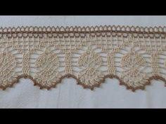 Filet Crochet, Crochet Necklace, Make It Yourself, Blog, Bead Crochet, Knitting And Crocheting, Crochet Border Patterns, Towel Bars, Crochet Dishcloths