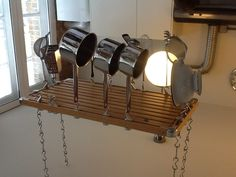 Existing pot rack